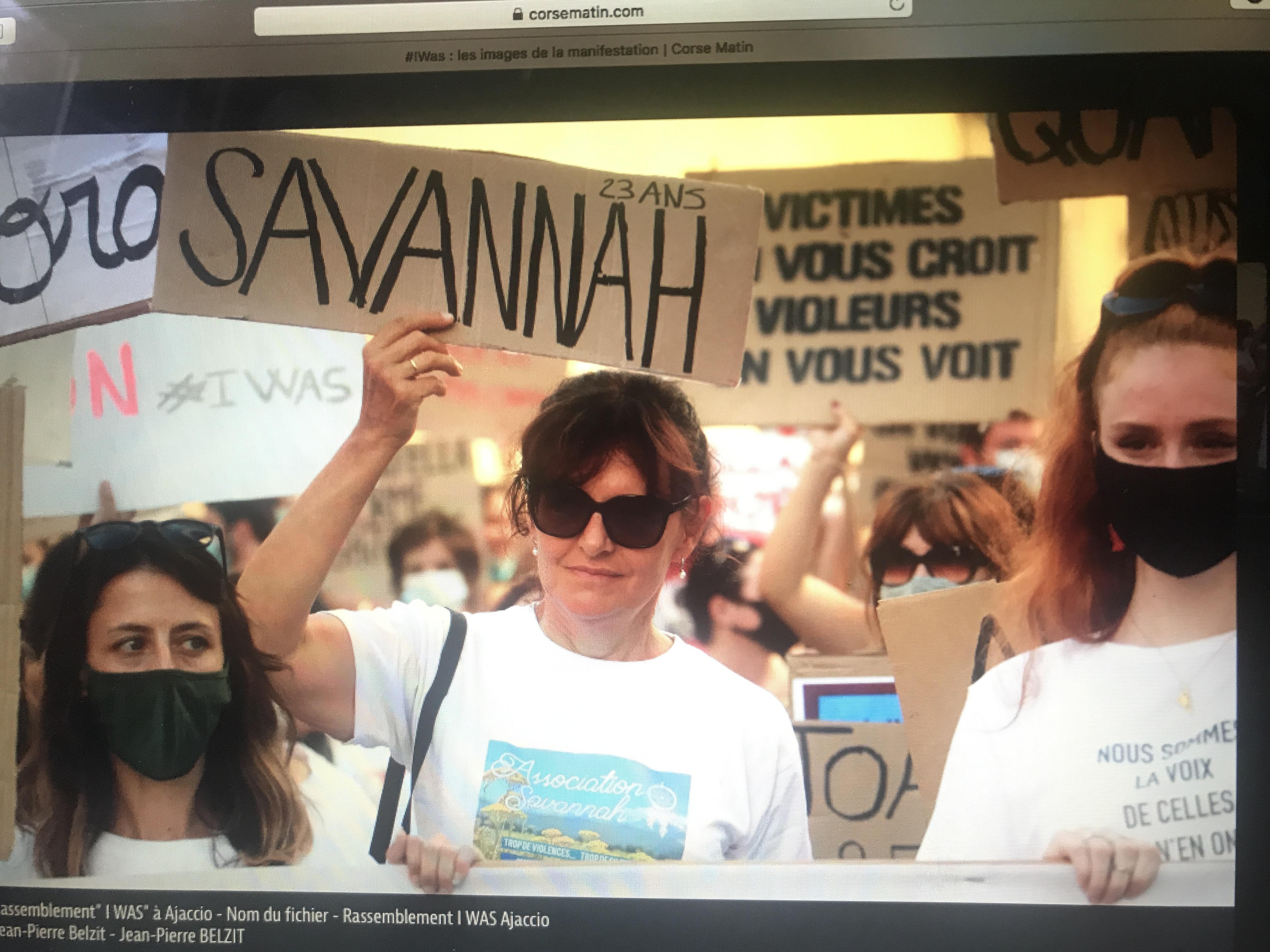 Manifestation contre les violences sexuelles et sexistes …